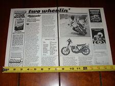 1978 KAWASAKI Z1R KZ1000 - ORIGINAL ARTICLE