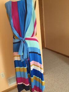 Women's Dress ,US size XL (16),,Multicolor,,Lafayette148,NWOT