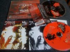 SIXX AM, MOTLEY CRUE  /JAPAN LTD CD & DVD OBI