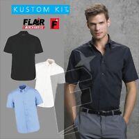 Kustom Kit Men's City Short Sleeve Business Shirt