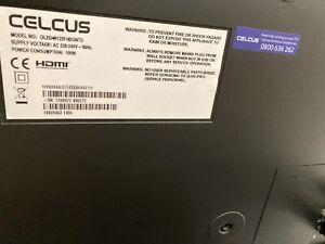 "LCD 40"" TV Celius +wifi dongel"
