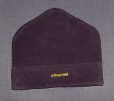 PATAGONIA BLACK FLEECE BEANIE WINTER HAT MEN'S WOMEN'S ONE SIZE OS