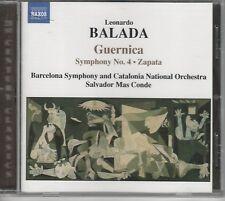 Leonardo Balada: Guernica; Symphony No. 4; Zapata (CD, Jun-2004, Naxos (Distribu