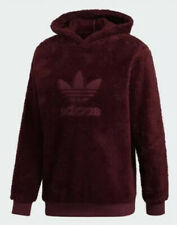Adidas Originals Winterized Pullover Hoody Men's Size XL Burgundy DH7079 NWT