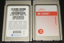 145 Lot of Motorola M-Card Media Cipher Multi Stream Cable Card-Tivo Hd Digital