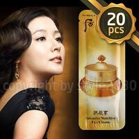 [The history of Whoo] Qi & Jin Eye Cream 1ml x 20pcs (20ml) Anti-Aging Wrinkle