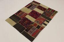 Tapis multicolores pour la maison en 100% laine, 120 cm x 170 cm