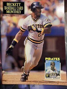 Beckett Baseball Card Monthly November 1990  Issue #68 Barry Bonds