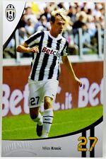 Cartoncino Juventus Stagione 2011/12 - Milos Krasic
