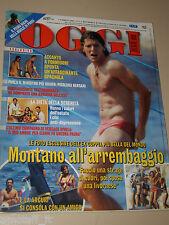 OGGI=2006/31=ALDO MONTANO=ANNA NETREBKO=SIENNA MILLER=ANTONIO D'AMICO=NOA=