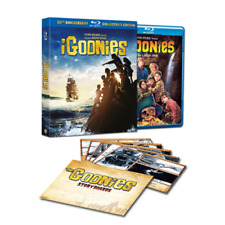 Blu Ray I GOONIES - 30th Anniversary - Collector's Edition (Blu-ray)...NUOVO