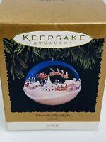 Vintage Hallmark Keepsake Ornament 1996 Over The Rooftops Magic Light Box