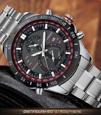 Montre Sport Watch Top Marque Homme Quartz Neuve Superbe Bracelet Métal Date