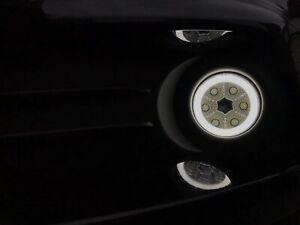 Ford Fiesta Mk6 Mk7 MK7.5 ST 90mm LED Fog DRL Halo Lights Universal H11 Kit