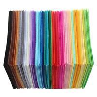 40pcs Vlies Polyestergewebe DIY Filz Stoff Nähen Puppe Handwerk Dekor SL#