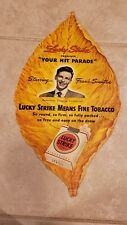 Rare Frank Sinatra Lucky Strike Tobacco Leaf Signed Fan Club Member Card