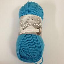 King Cole Cherished DK 100 Acrylic Anti Pilling Knitting Yarn 100g Balls Teal 1419