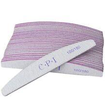 25 Limas Para Manicura Uñas Preparación Manicura Grano 100/180 Nails Art Gel UV
