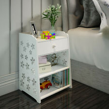 Modern style with a Drawer Nightstand bedside table 49.5x39.5x29.5 cm