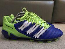 NEW ADIDAS PREDATOR AdiPower FG Football Boots BLUE + GREEN - D.Beckham UK 9.5