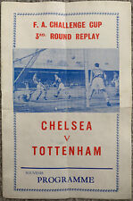 More details for chelsea v tottenham hotspur 1963/64 fa cup pirate programme by tucketts