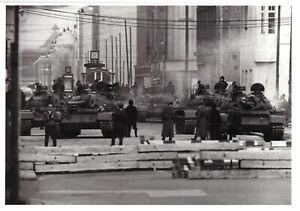 AK, Berlin Mitte, Panzerkonfrontation am Checkpoint Charlie 1961, um 2010