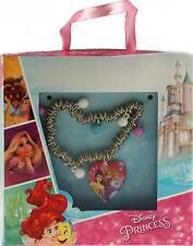Disney Princess Charm Bracelet avec ouverture Médaillon Cadeau Bijoux