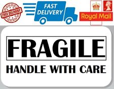 100 x Fragile Labels Handle With Care Labels Fragile Stickers Envelopes Photos