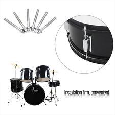 6pcs Standard Size 60mm 2.4inch Tension Rod For Tom-Tom Snare Drum Drum Set Kits