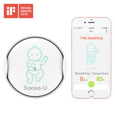 (2019 Updated Version)Sense-U Baby Breathing & Rollover Baby Movement Monitor