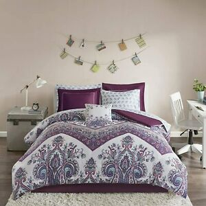 Intelligent Design Complete Bag Casual Boho Comforter with Sheet Decorative Pill