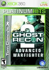 Tom Clancy's Ghost Recon: Advanced Warfighter 2 (Microsoft Xbox 360) *pre-owned*