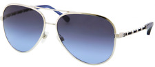 * CHANEL * sunglasses  -  CH4194Q c1244C - Womens Aviator - Silver Blue Gradient