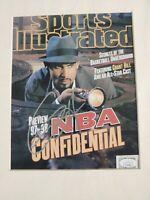 Grant Hill Signed 8x10 Picture. JSA COA. NBA. Pistons.