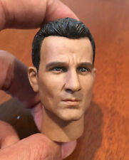 "Custom 1/6 Clive Owen Head Sculpt Model Fit 12"" Hot toys Figure Body"
