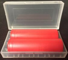 """Brand New """"2"""" Sanyo UR18650RX 2000mAh 18650 HIGH DRAIN 20A Rechargeable Battery"""