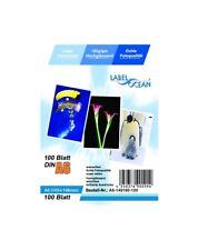100 Feuilles Papier Photo A6 105x148mm Premium Haute Brillance 180g LabelOcean