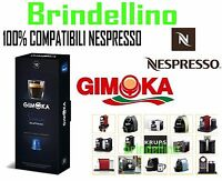 50 Cialde Capsule caffè Gimoka DECA DEK SOAVE Espresso compatibili NESPRESSO