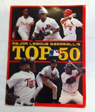 Major League's  Baseball's top 50 Magazine 2007 Albert Pujols  Johan Santana