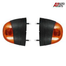 For Ford Transit Mk6 Mk7 Front Lh + Rh Side Indicator Repeater Amber Lights Lamp