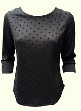 Viscose Casual Spotted Tops & Shirts for Women