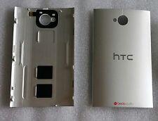 Backcover Akkudeckel Gehäuse Cover Deckel Schale Silber HTC One M7 802w Dual Sim