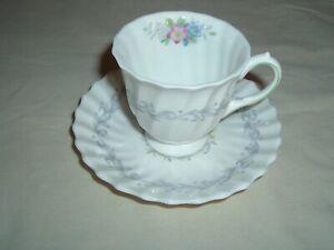 Royal Doulton WINDERMERE Espresso Demitasse Cup & Saucer Multicolor Flowers