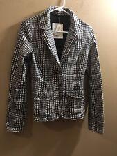 Nwt Aeropostale Peacoat Blazer Coat Jacket Size Medium $74.50