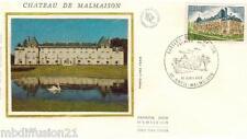 1976**ENVELOPPE SOIE**FDC 1°JOUR**CHATEAU DE MALMAISON**TIMBRE Y/T 1873