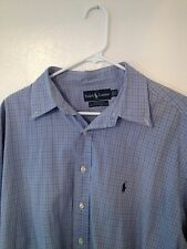 Polo by ralph lauren shirt 17.5 34/35 Yarmouth 100% cotton pinpoint oxford Pony