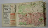 1955 Grieben Reisefuhrer Band 68 Wien und Umgebung Guide Vienna and surrounding