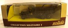 Solido 6045 GMC LOT 7 - 1:50 - collection militaire I