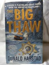 PAPERBACK NOVEL THE BIG THAW Harstad Action Adventure Fiction 2001 BOOK USA
