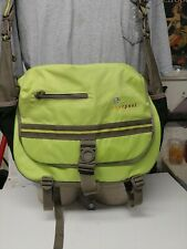 Sherpani lena Messenger Tote Diaper Bag Green black Adjustable
